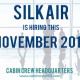 silkair cabin crew hiring november 2014
