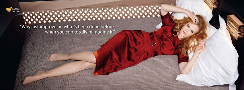 Nicole Kidman for Etihad Airways