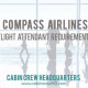 compass airlines cabin crew requirements