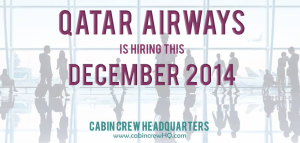 qatar airways hiring december 2014