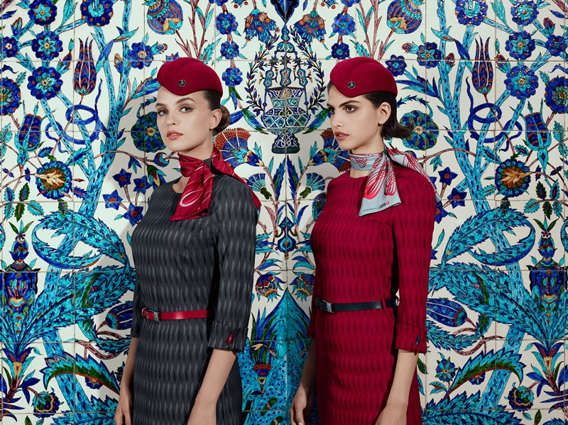 new uniforms turkish airlines