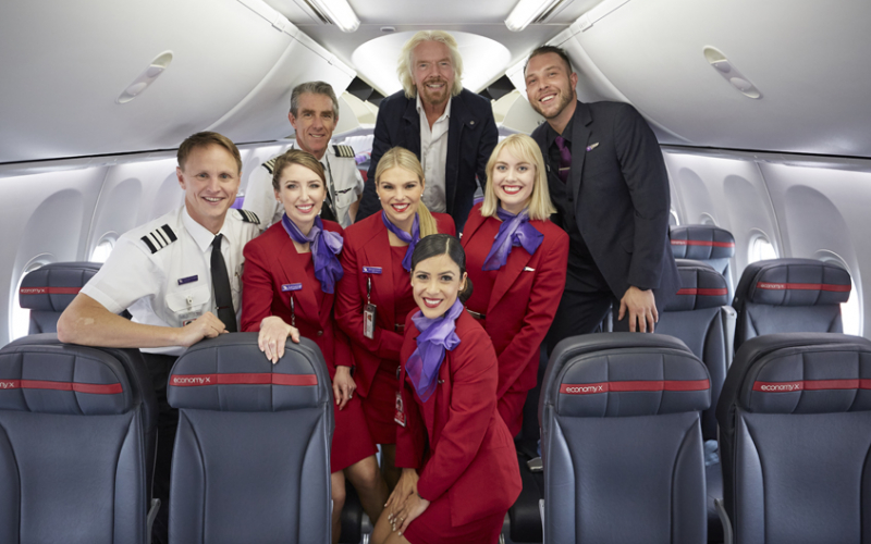 virgin australia best cabin crew